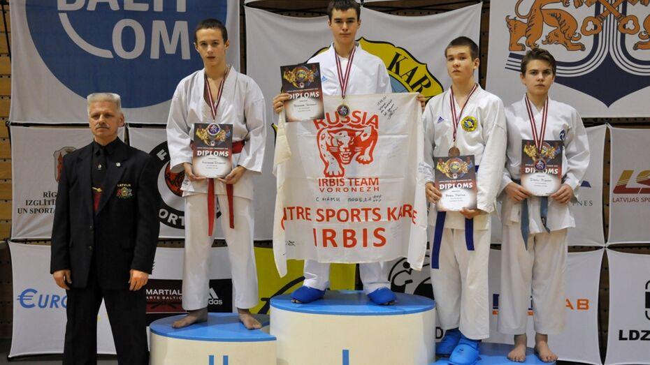 Юный воронежский каратист стал абсолютным чемпионом Латвии