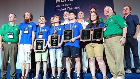 Воронежец победил на чемпионате мира по программированию