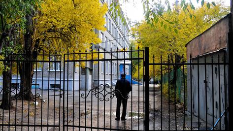 Губернатор раскритиковал перекосы в защите школ Воронежской области
