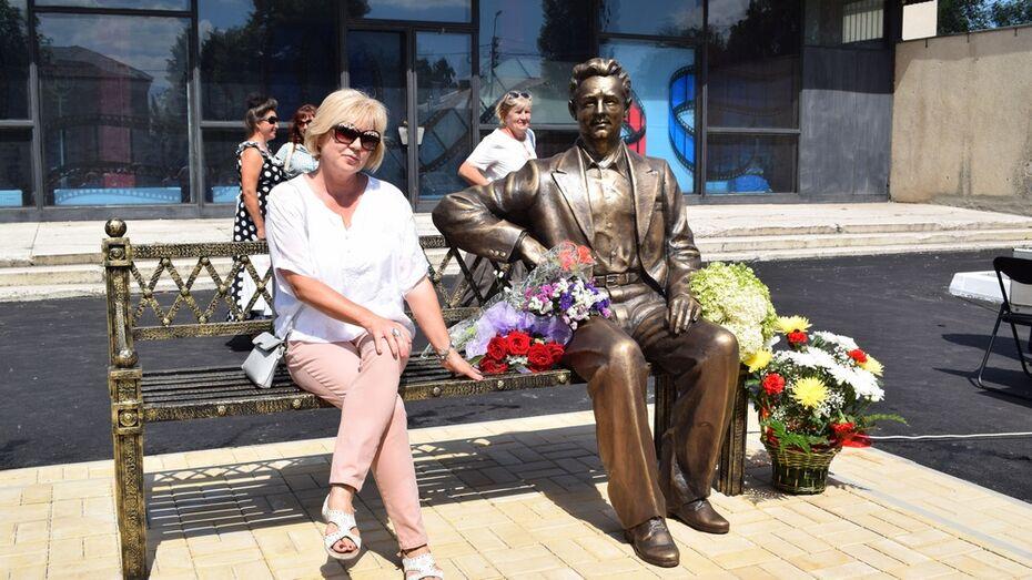 В Воронежской области открыли памятник Николаю Рыбникову