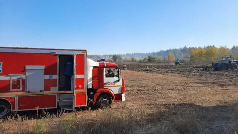 Угрожавший богучарскому селу Журавка пожар потушили