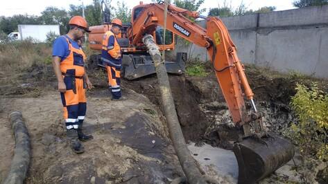 Подвоз воды организовали в Воронеже по двум адресам из-за аварии на водоводе