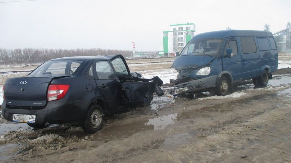 В Таловском районе непогода спровоцировала 2 дорожных аварии