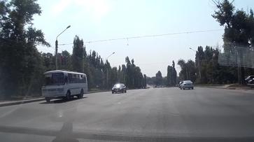В Воронеже оштрафовали проехавшего на красный свет водителя маршрутки