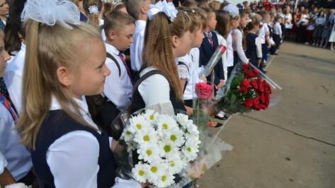 Воронежцев поздравили с Днем знаний