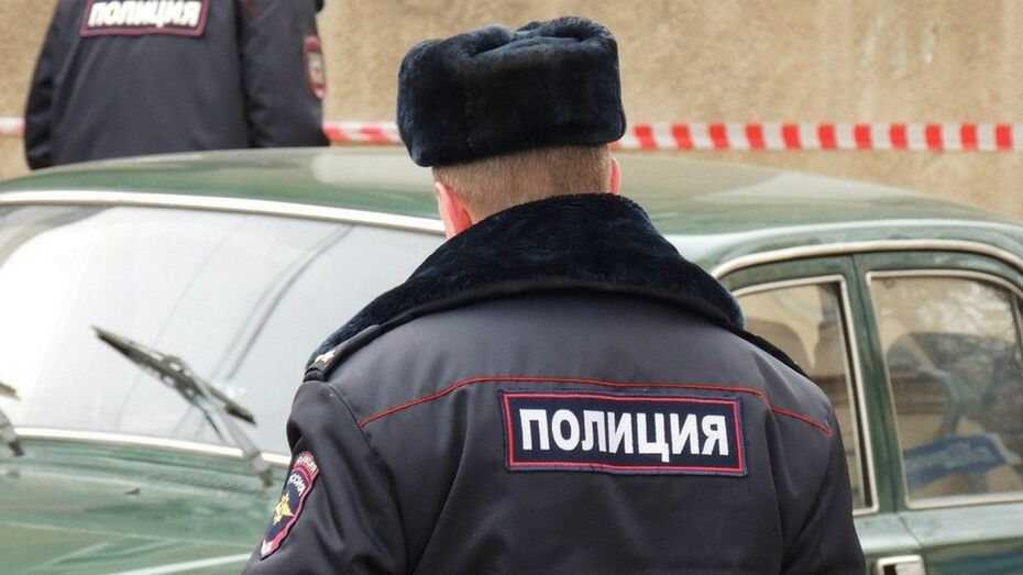 У лискинцев полицейские изъяли самодельные обрез и патроны
