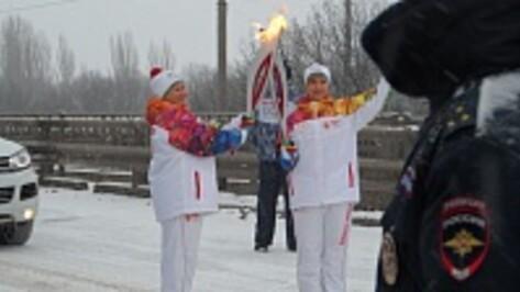«Душа России» из Павловска Людмила Чувикова несла факел Олимпийского огня