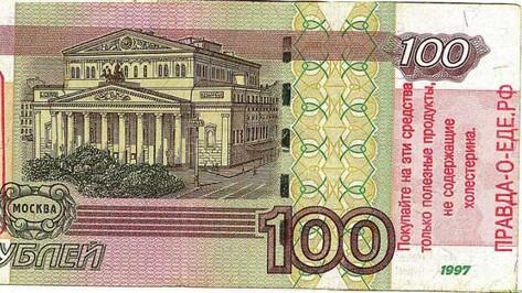 Воронежские общественники выбросят из окна 100 тысяч рублей