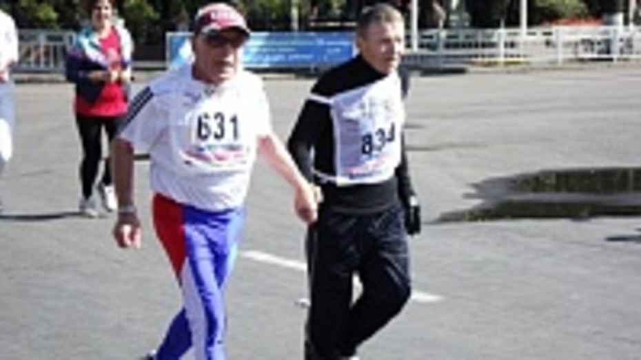 76-летний кантемировец пробежал дистанцию «Кросса наций»