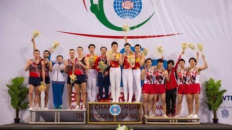 Воронежский спортсмен завоевал «серебро» на чемпионате мира по прыжкам на батуте