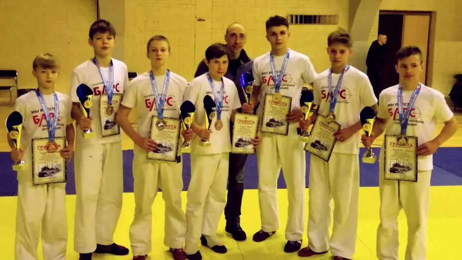 Борисоглебские рукопашники получили 3 «золота» всероссийского турнира