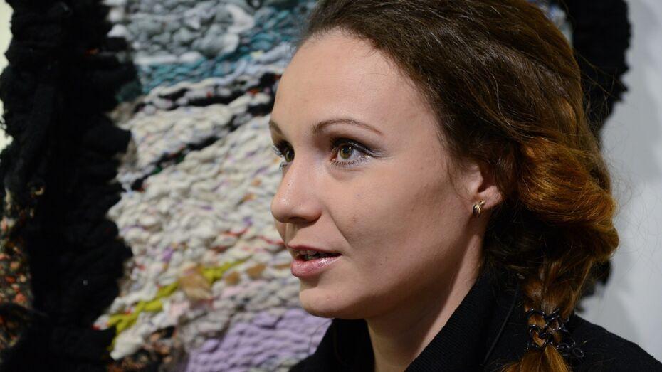 Работы воронежской художницы показали на углеродно-нейтральной выставке в Третьяковке