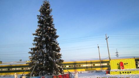 В Семилукском районе назвали победителей конкурса на лучшее новогоднее оформление