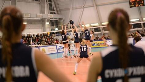 Волейбольный «Воронеж» проиграл в Казани