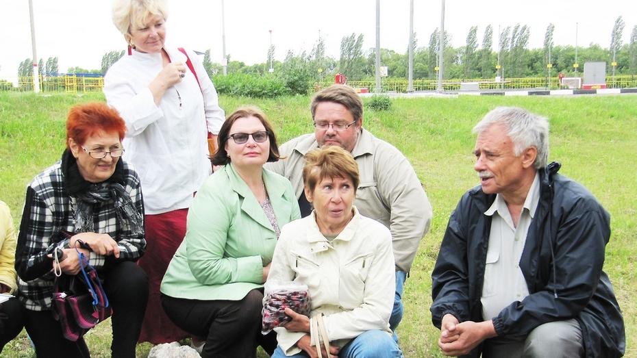 В центре Воронежской области установлен знаковый камень