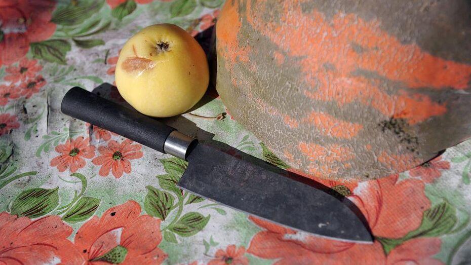 В Воронежской области отвергнутый мужчина изуродовал ножом бывшую пассию