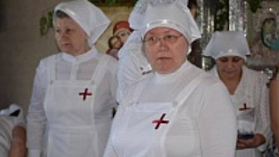 Прихожанки Латненского храма Семилукского района создали службу сестер милосердия