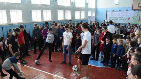 В Павловском районе запустили программу «Здоровое село – здоровая страна»