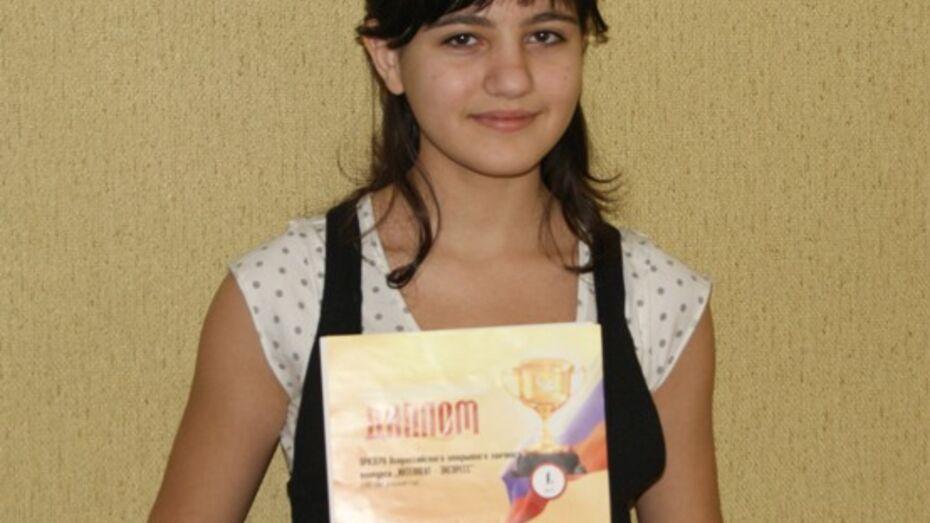 Поворинская школьница-армянка победила во Всероссийской олимпиаде по русскому языку