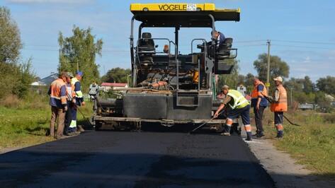 В Нижнедевицком районе заасфальтируют 5,6 км сельских дорог
