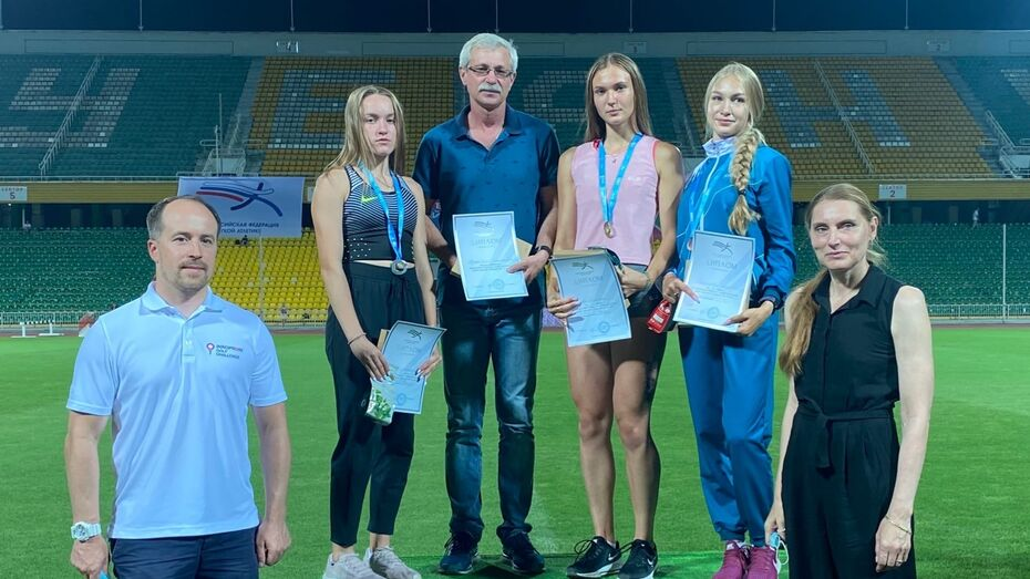 Воронежская бегунья завоевала золото на первенстве России