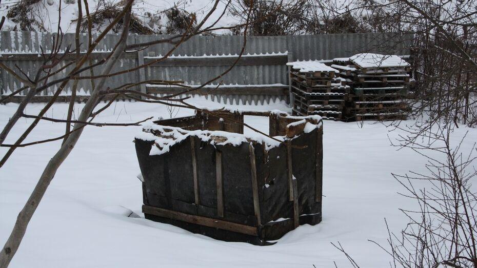 У жительницы Богучара ночью украли колодец