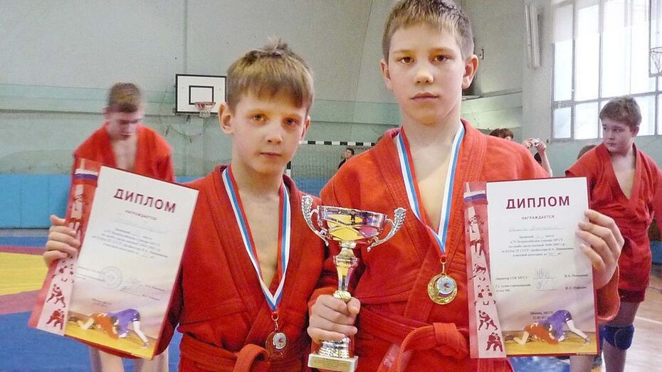 Бутурлиновские самбисты стали призерами Всероссийского турнира