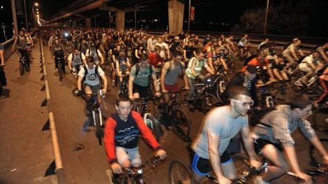 В Воронеже из-за Велоночи закроют движение по 5 улицам