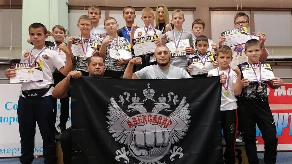 Лискинцы завоевали 3 «золота» Всероссийского турнира по борьбе панкратион