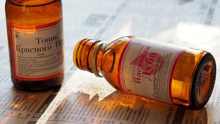 В Воронежской области Роспотребнадзор нашел 47 запрещенных спиртовых настоек