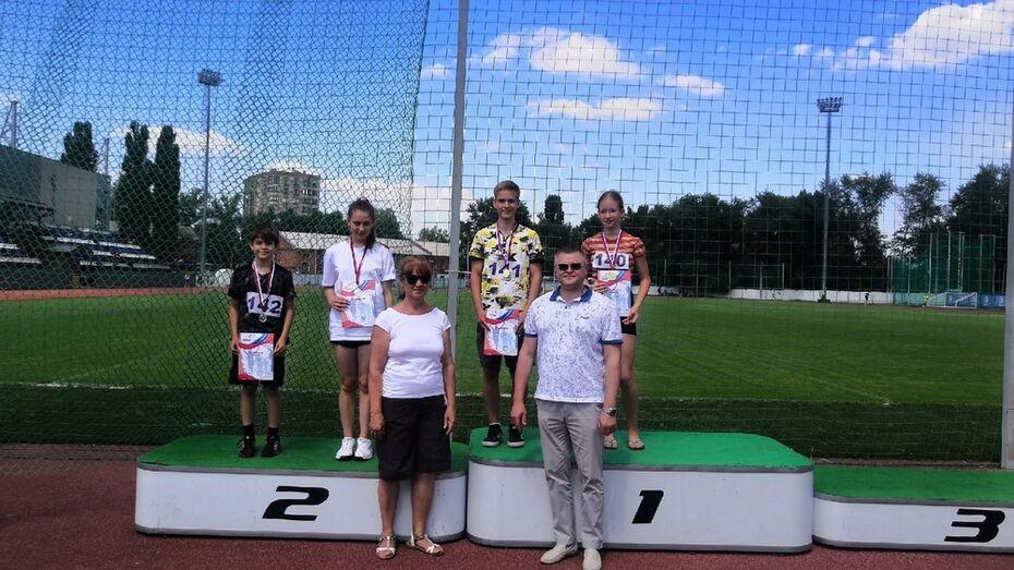 Павловские легкоатлеты завоевали 5 золотых медалей областного первенства