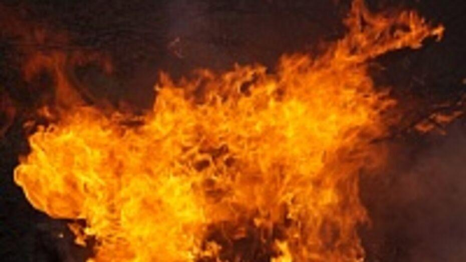 В Лискинском районе мужчина получил ожоги, разводя костер в подвале