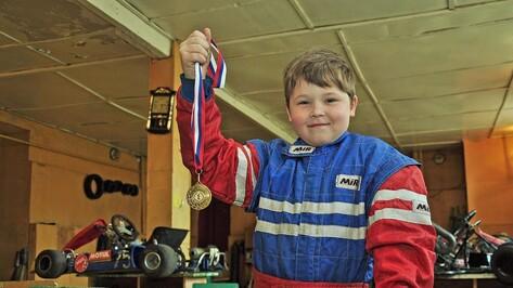 В копилке наград картингиста из Бутурлиновки появилась золотая медаль