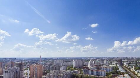 В центре Воронежа появились первые домовые указатели с подсветкой