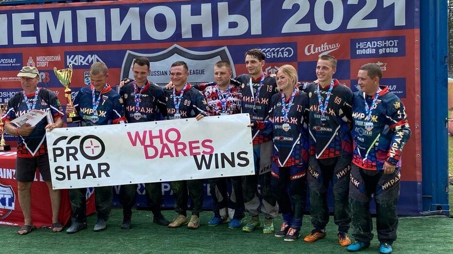 Верхнехавские пейнтболисты вернулись из Москвы с «серебряным» кубком