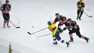 В Воронеже региональные журналисты уступили федеральным в хоккей
