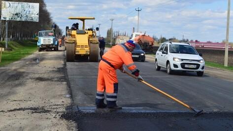 В воронежском микрорайоне Боровое реконструируют старые и построят новые дороги