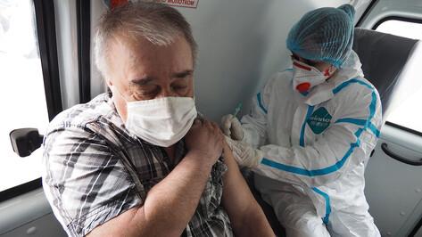 Прививку от коронавируса за сутки сделали более 17,5 тыс жителей Воронежской области