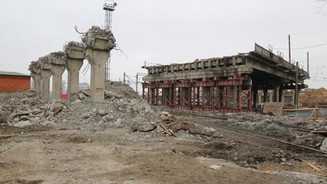 Путепровод на улице 9 Января в Воронеже откроют к июню