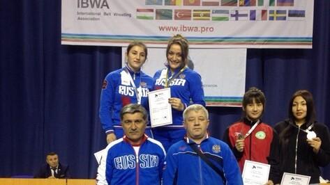 Воронежская спортсменка выиграла Кубок мира по борьбе на поясах