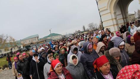 Хохольцы отметили престольный праздник Казанского храма