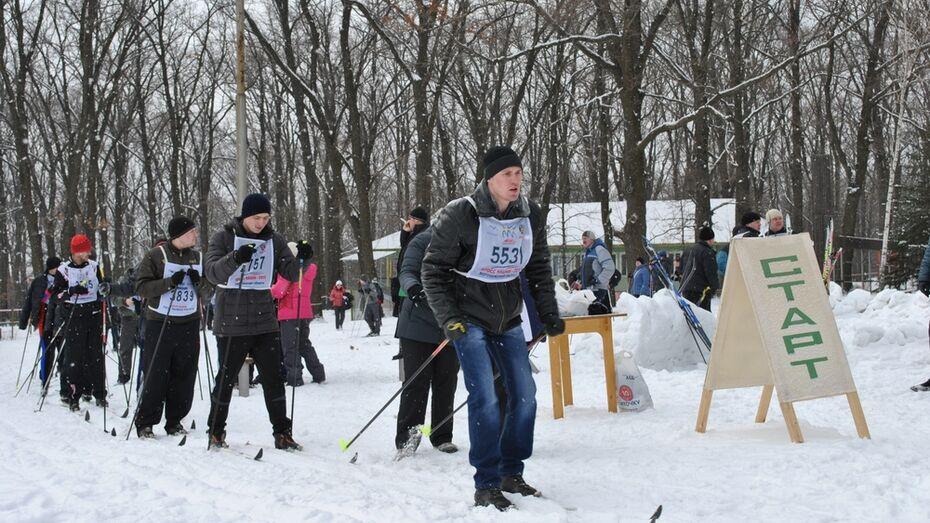 В Семилуках районный День здоровья посвятили годовщине сочинской Олимпиады