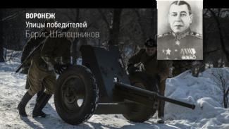 Воронеж. Улицы победителей. Борис Шапошников