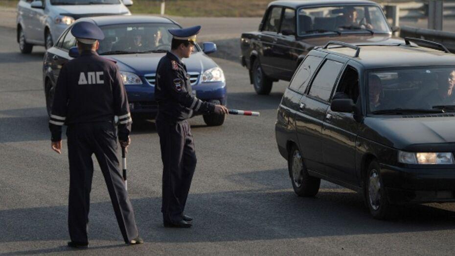 За 8 часов проведения «сплошных» проверок в Воронеже выявили 211 нарушений ПДД
