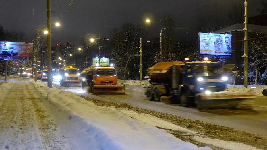 В Воронеже ночью перекроют участок улицы Революции 1905 года