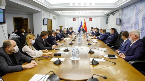 «Нулевое» чтение бюджетов прошло в Воронежской облдуме