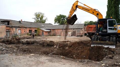 В семилукском поселке начали строить новую котельную