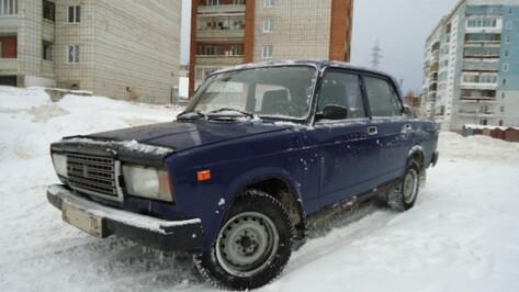 Воронежец скрылся с места ДТП и решил замести следы, сказав, что его машину угнали
