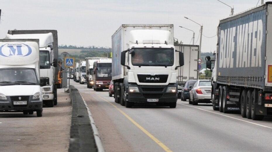 Воронежские дальнобойщики устроят забастовку против системы «Платон»