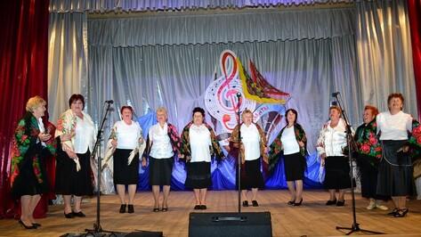 В Грибановке первый фестиваль творчества пенсионеров собрал более 100 коллективов